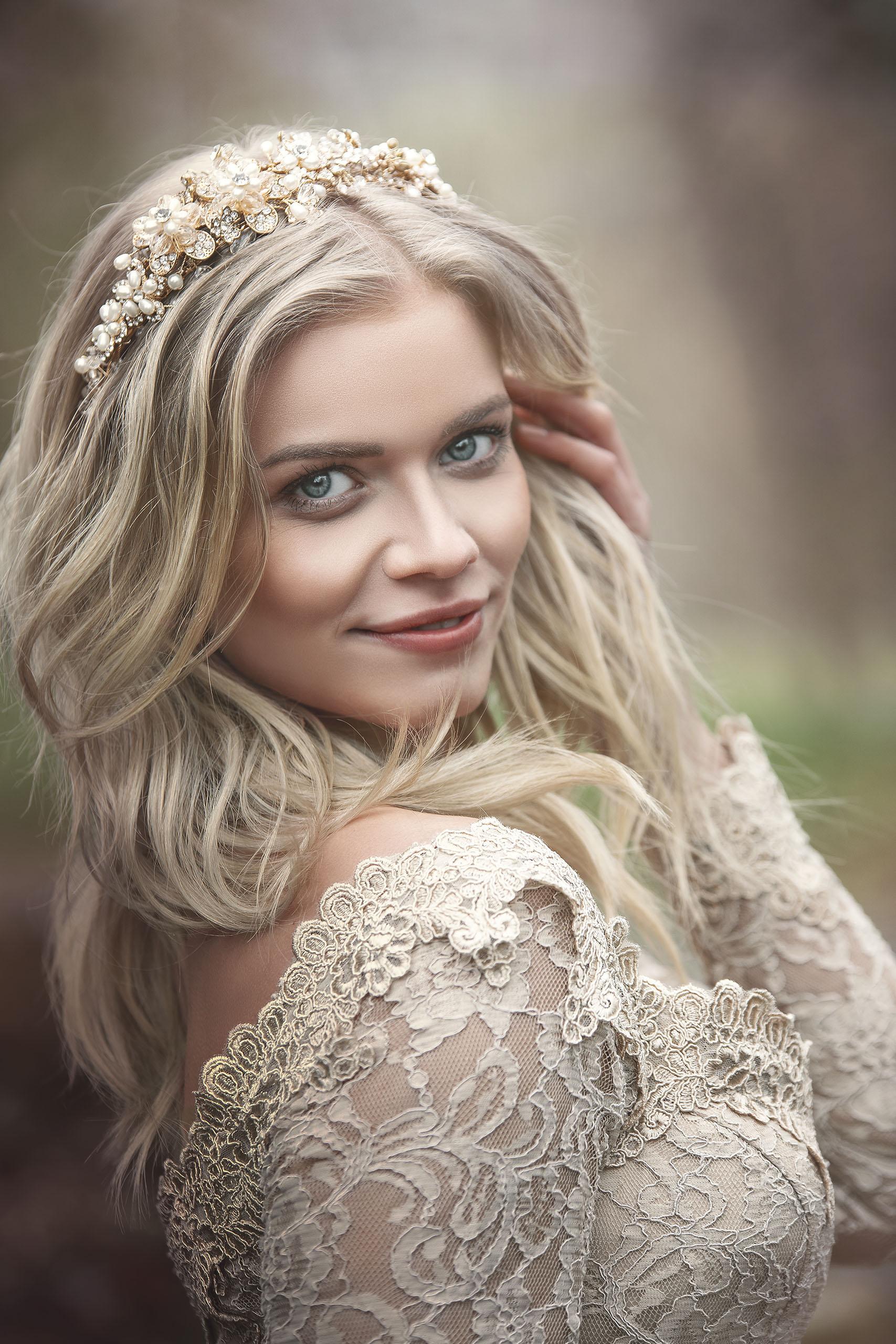 Portrait Braut als Prinzessin